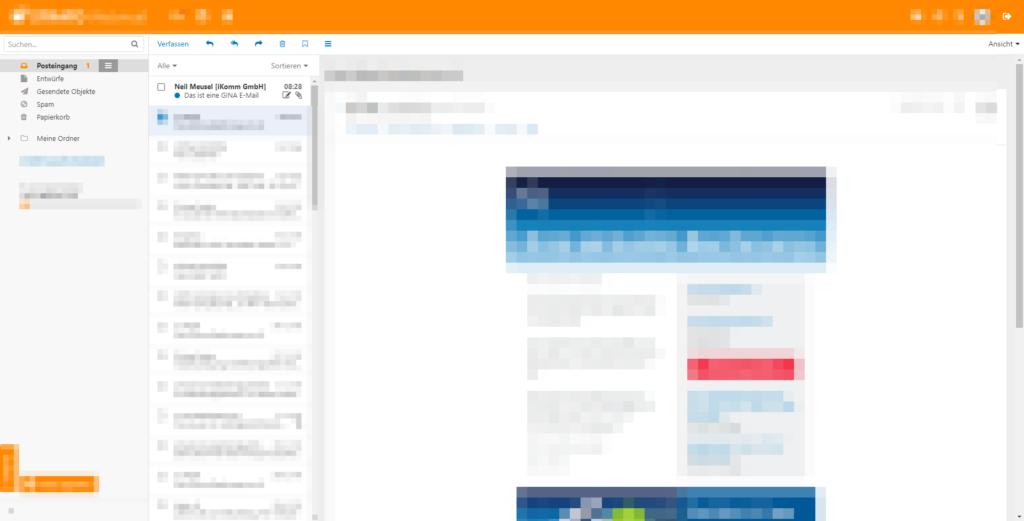 Mit der iKomm sicher und verschlüsselt kommunizieren - Neue E-Mail