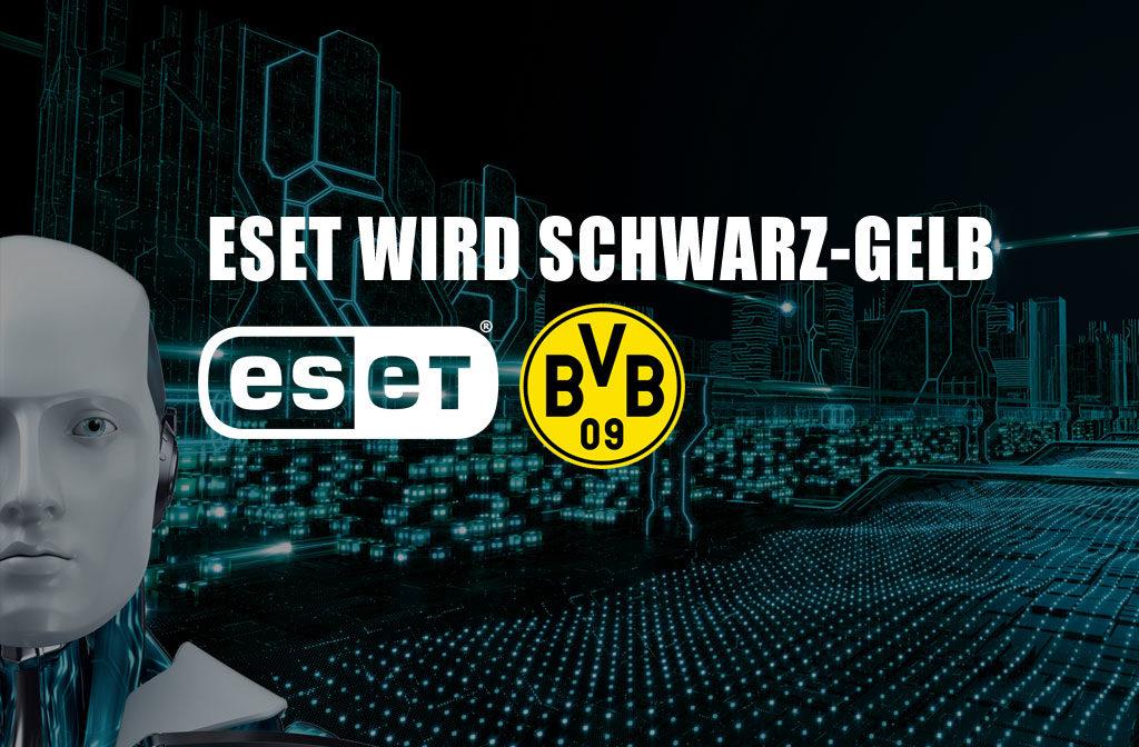 ESET wird schwarz-gelb