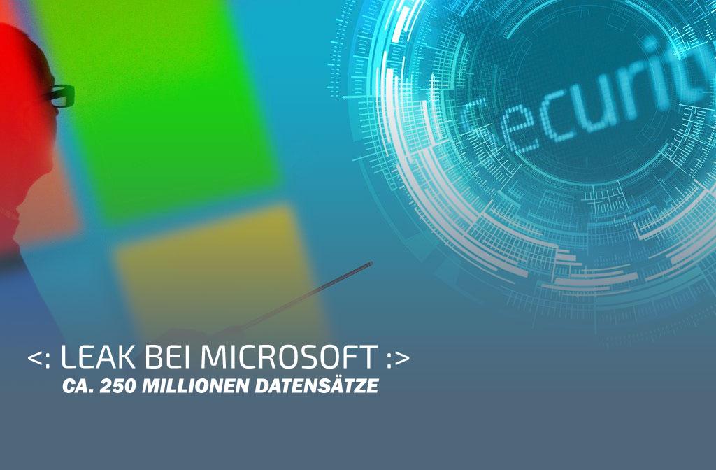Leak bei Microsoft