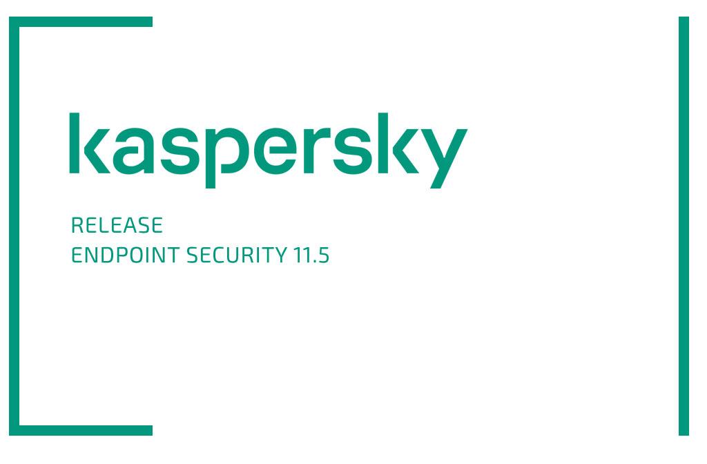 Kaspersky Endpoint Security 11.5 veröffentlicht
