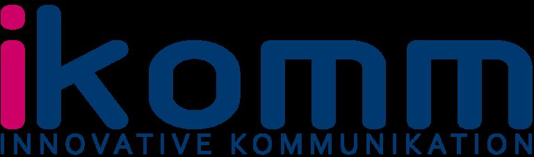 ikomm logo, blog logo, ikomm gmbh